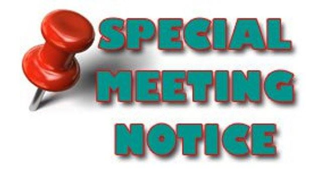 special-called-meeting